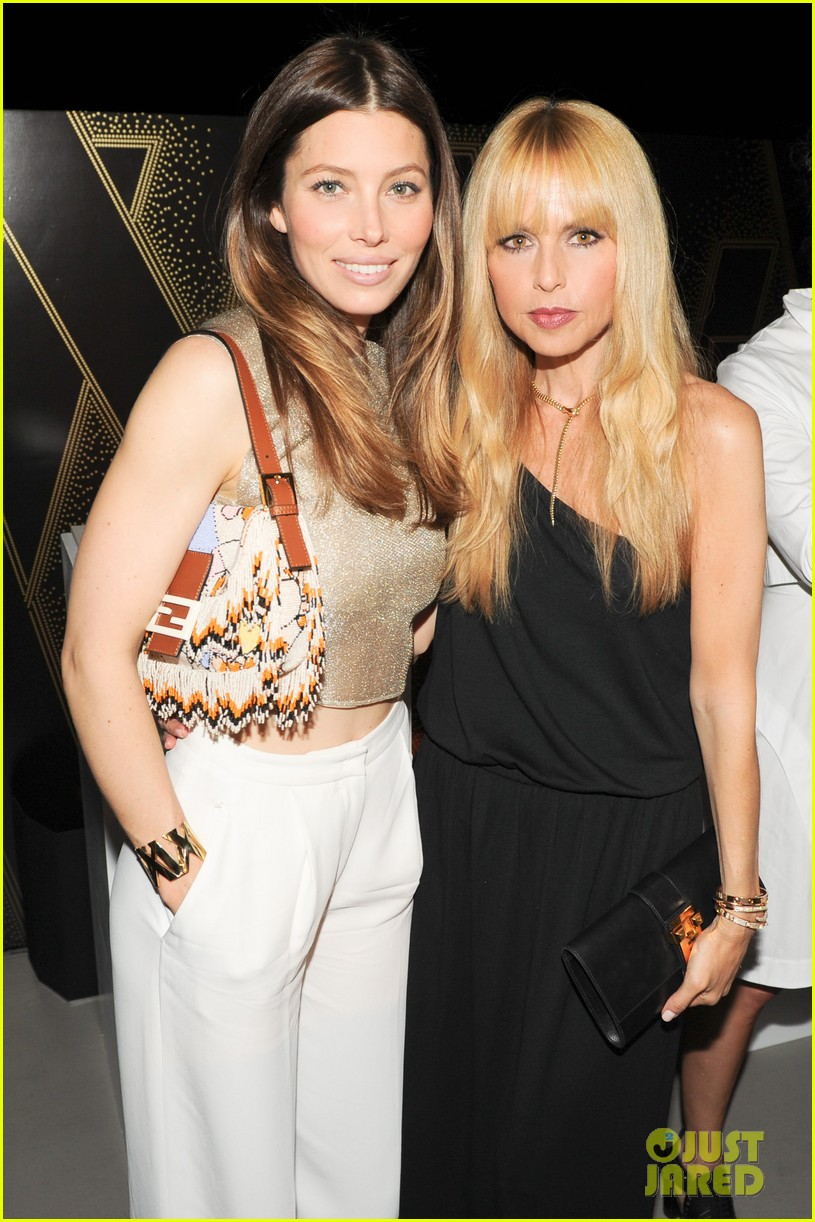 jessica biel atlas collection launch party with rachel zoe 033102527