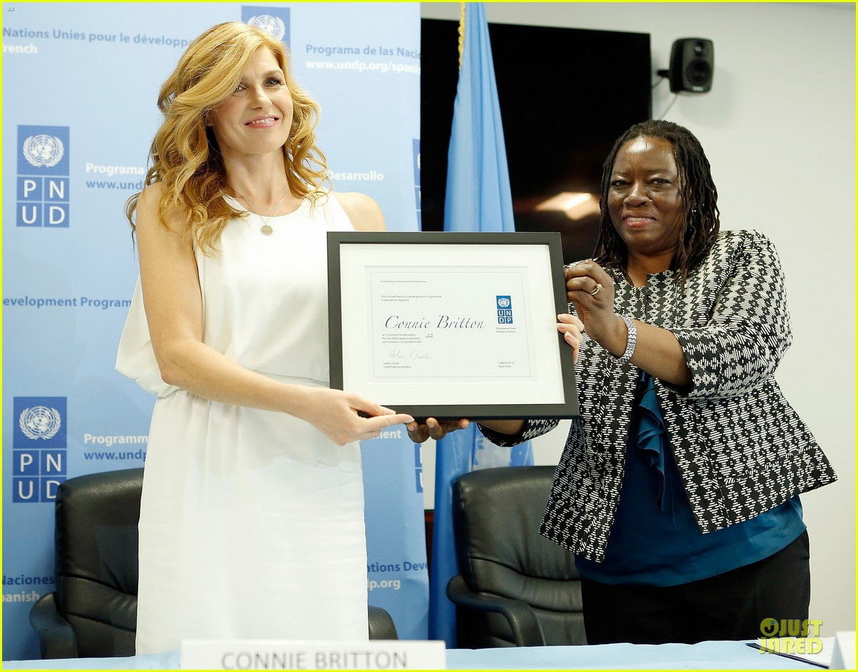 connie britton thrilled as undp goodwill ambassador 08