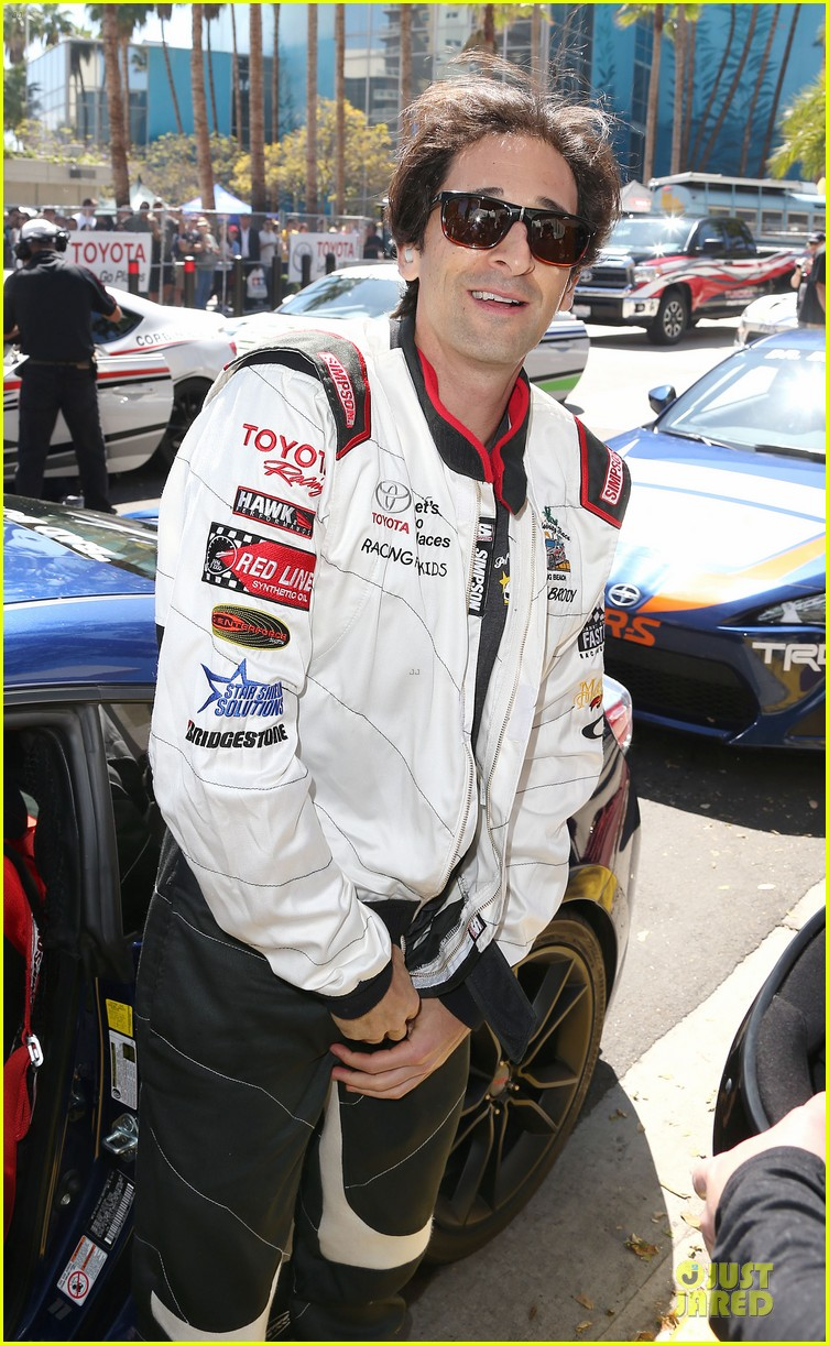 adrien brody hairy incidents racing cars 063092350