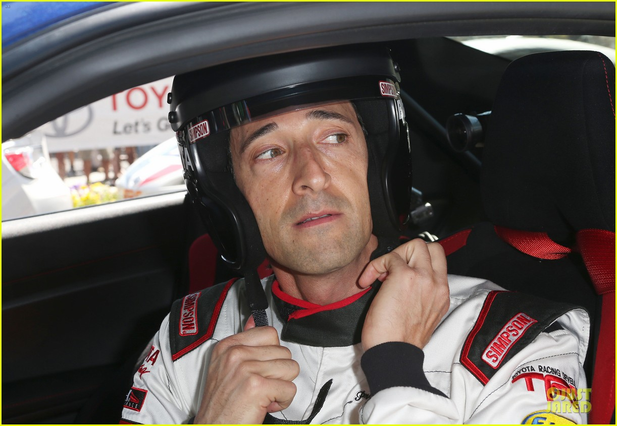 adrien brody hairy incidents racing cars 073092351
