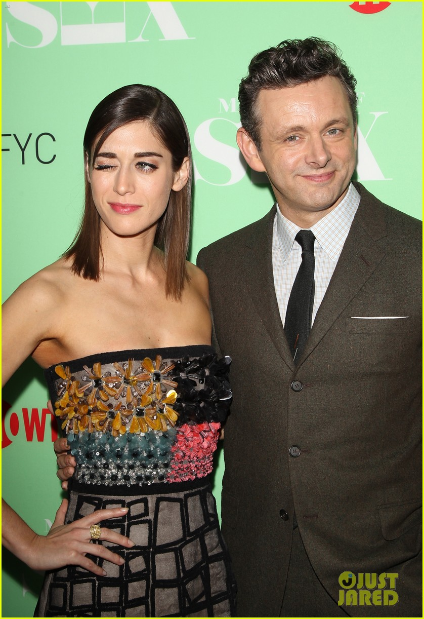lizzy caplan michael sheen reunite with cast of masters of sex 113102247
