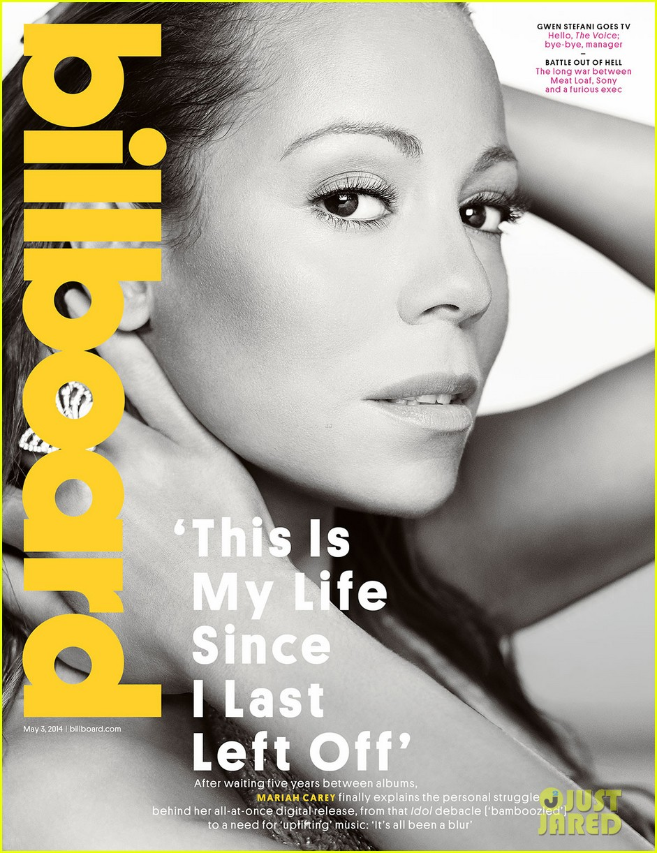 mariah carey covers billboard 013098993