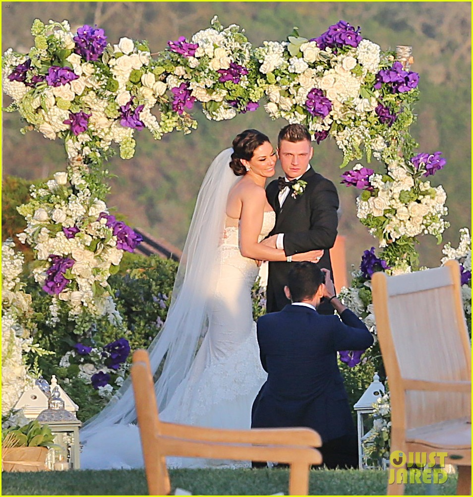 backstreet boys nick carter is married wedding photos 053090083