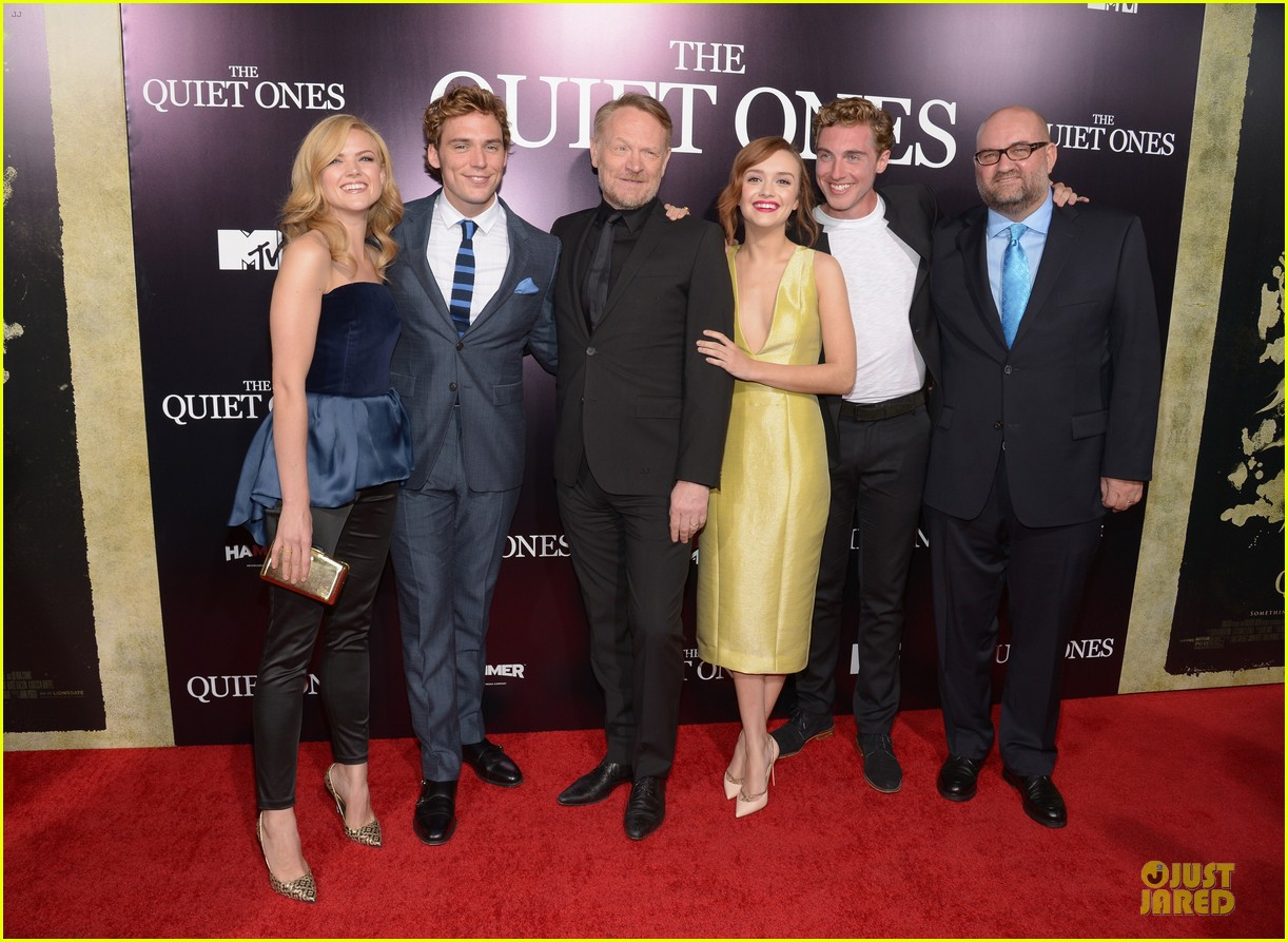 sam claflin laura haddock the quiet ones premiere 113097151