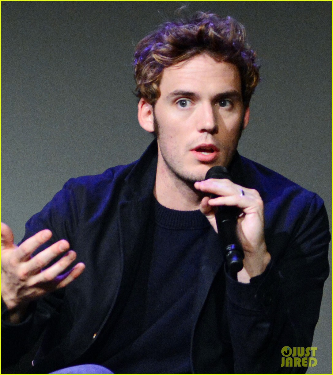 sam claflin promotes the quiet ones at his meet the actors session in nyc 013093272