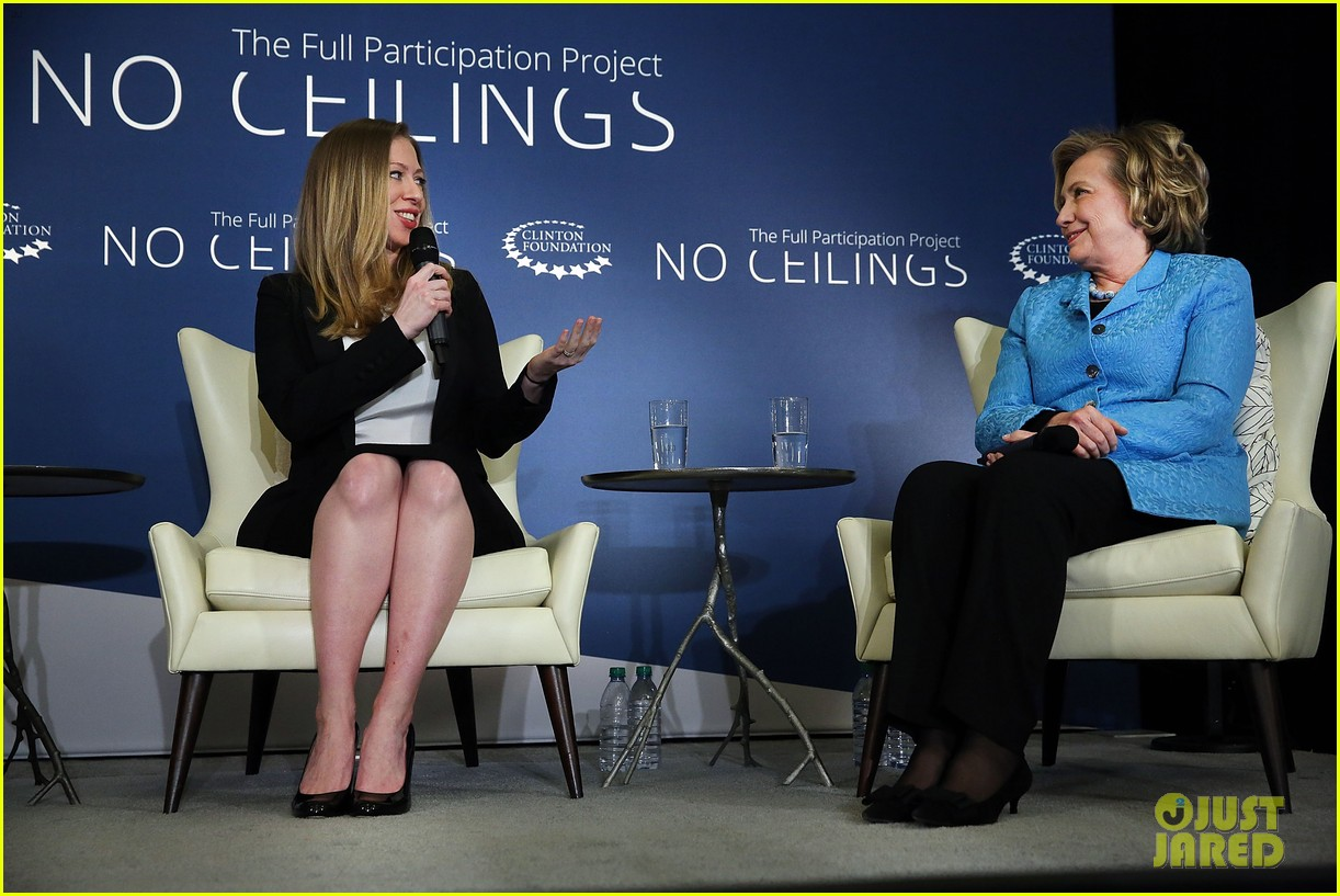 pregnant chelsea clinton hits red carpet 083094104