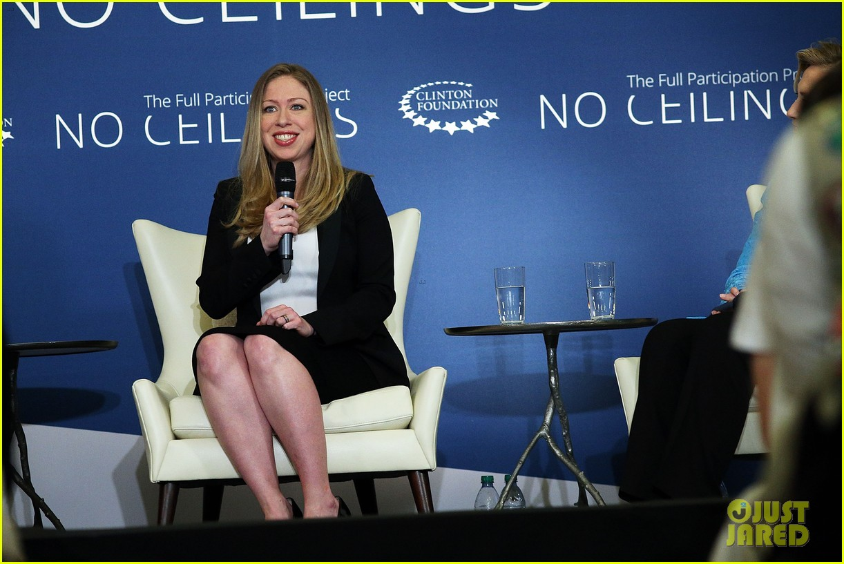 pregnant chelsea clinton hits red carpet 103094106