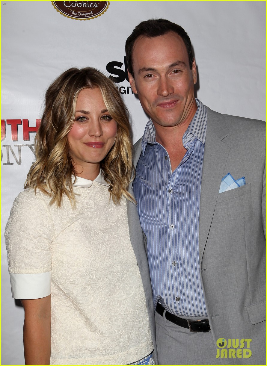 kaley cuoco hits the premiere of authors anonymous with sister briana 063088260