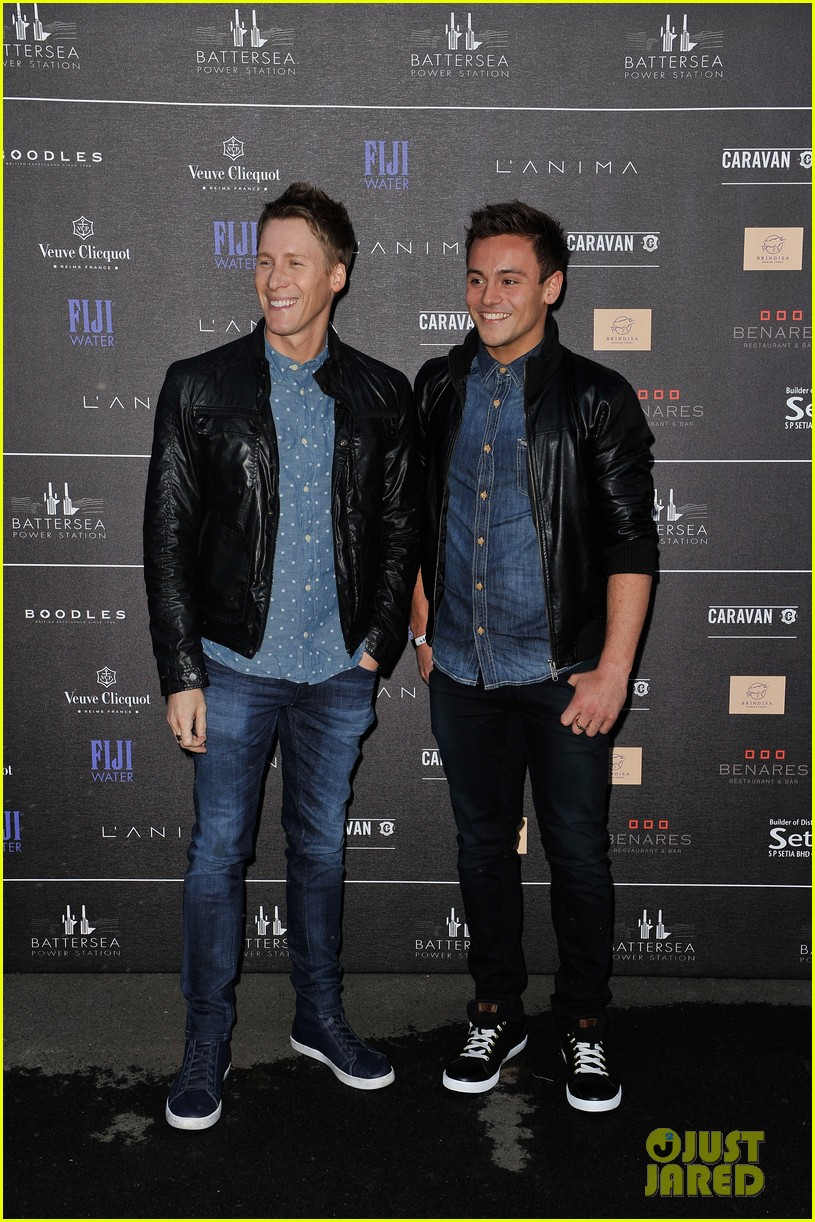 tom daley dustin lance black attend first event as a couple 063102556