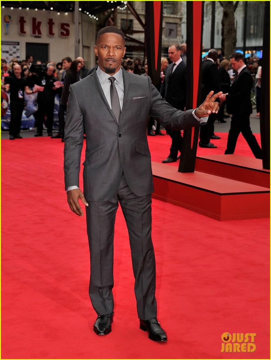 dane dehaan jamie foxx spider man villains hit red carpet at world premiere 033088484