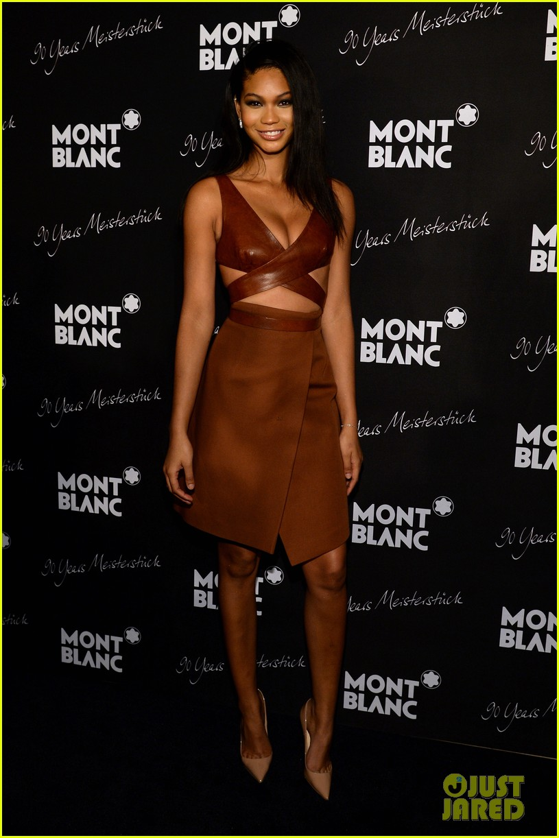 rosario dawson madalina ghenea montblanc celebrate 90 years of the iconic meisterstuck 053084458
