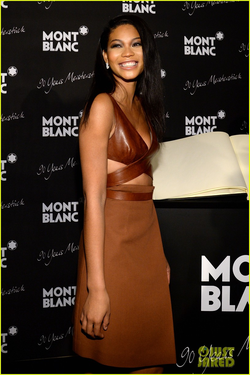 rosario dawson madalina ghenea montblanc celebrate 90 years of the iconic meisterstuck 073084460