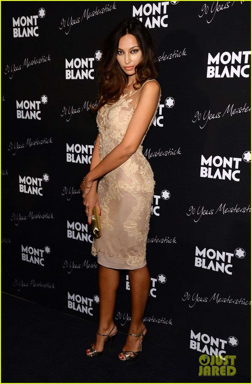 rosario dawson madalina ghenea montblanc celebrate 90 years of the iconic meisterstuck 173084470