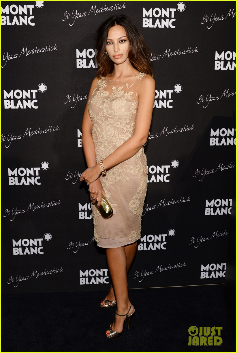 rosario dawson madalina ghenea montblanc celebrate 90 years of the iconic meisterstuck 183084471