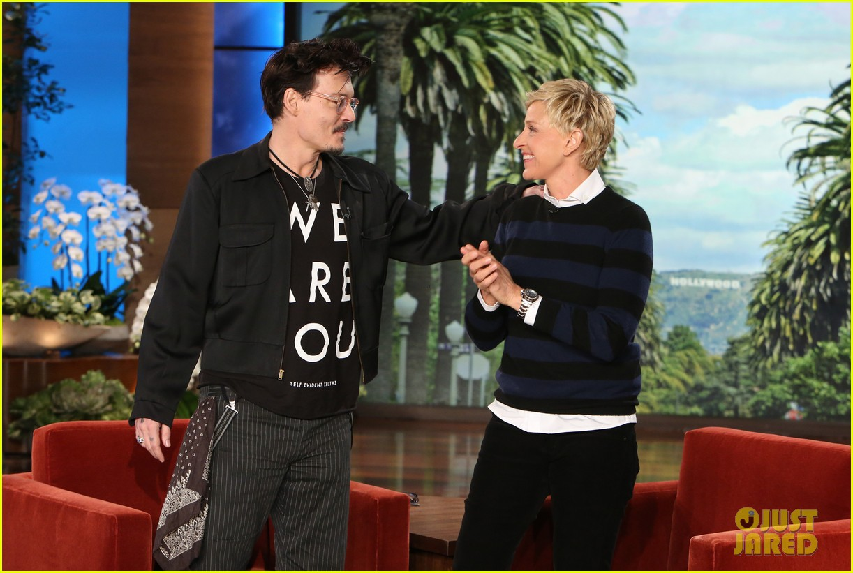 johnny depp talks feeling calmer since turning 50 on ellen 043089019