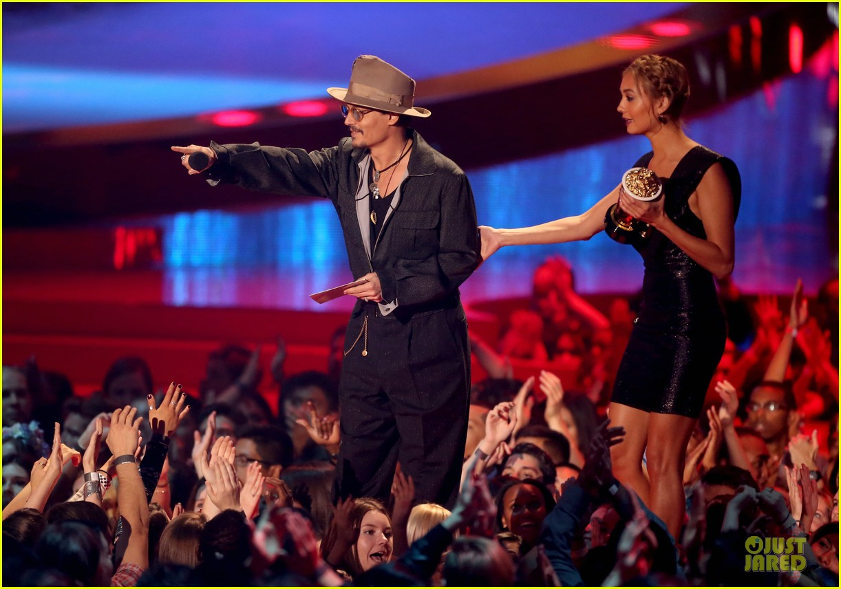 johnny depp mtv movie awards 2014 033091399