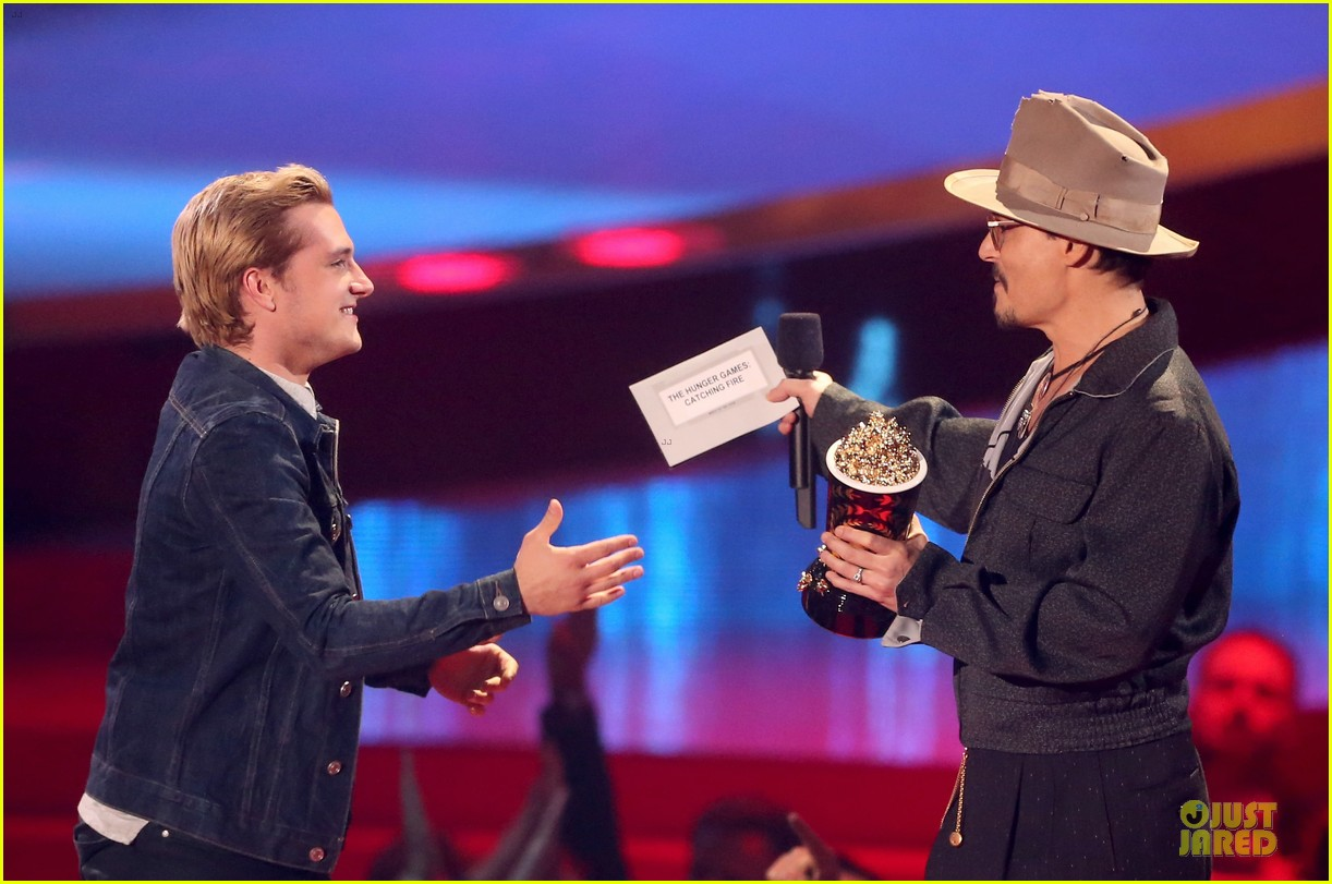 johnny depp mtv movie awards 2014 053091401