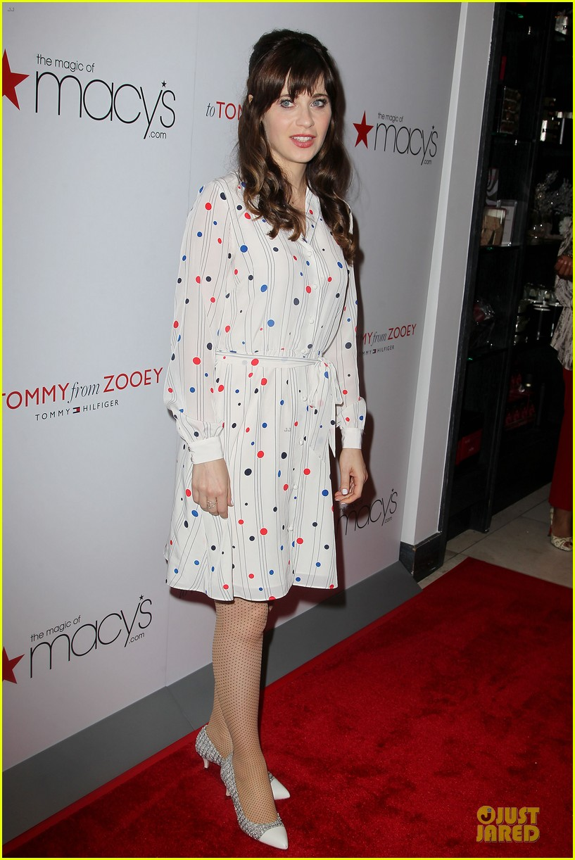 zooey deschanel tommy hilfiger collection launch 06