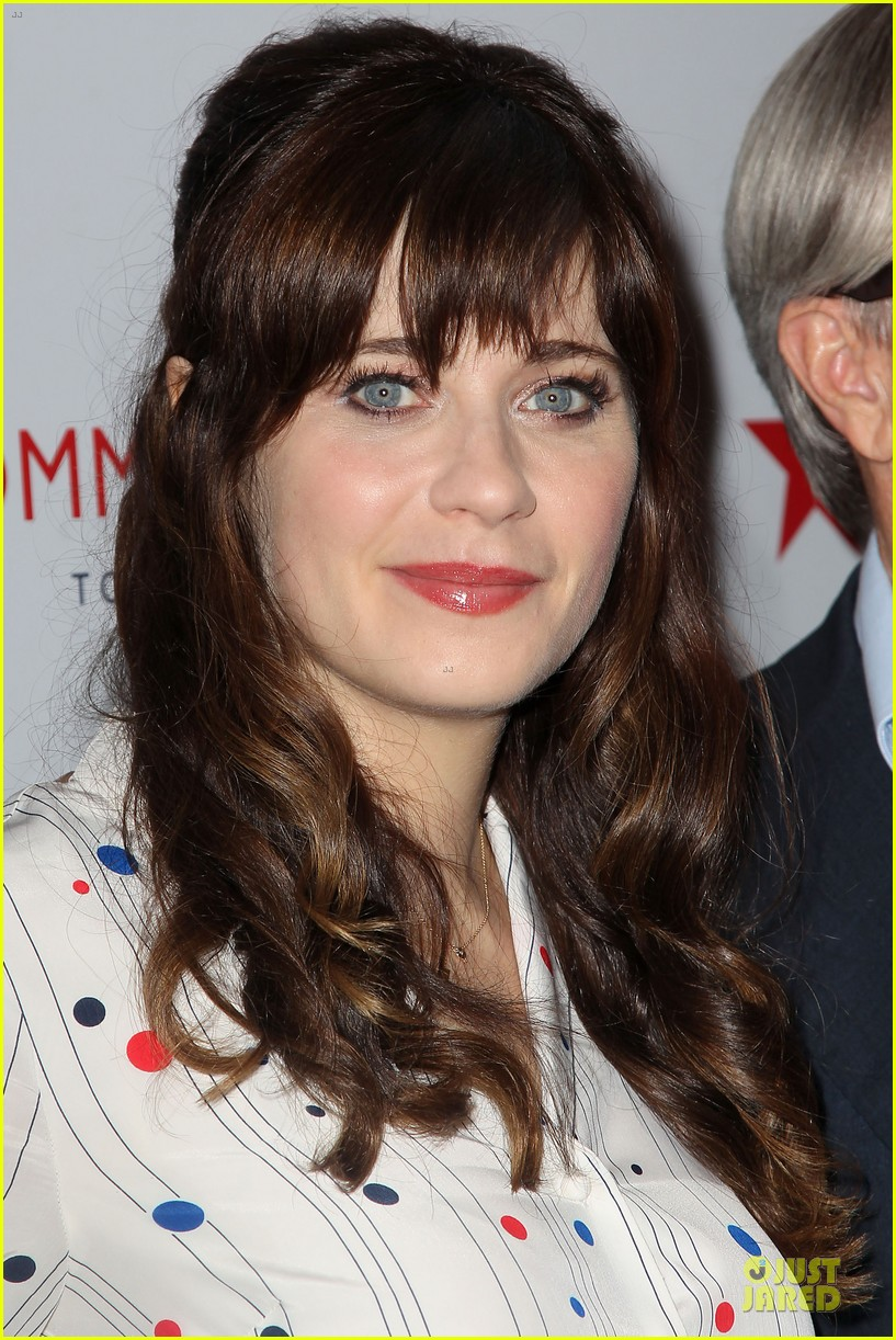 zooey deschanel tommy hilfiger collection launch 093092497