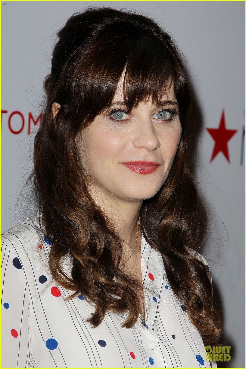 zooey deschanel tommy hilfiger collection launch 103092498