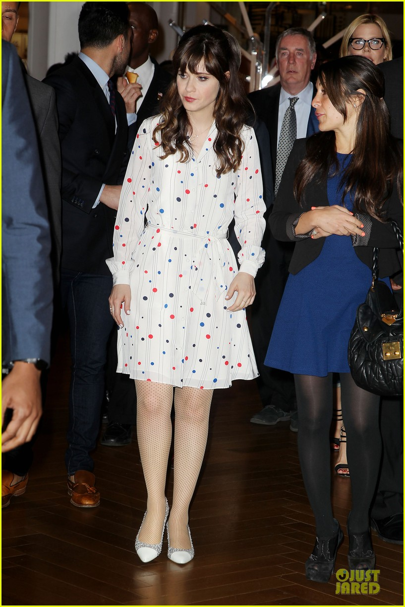 zooey deschanel tommy hilfiger collection launch 123092500