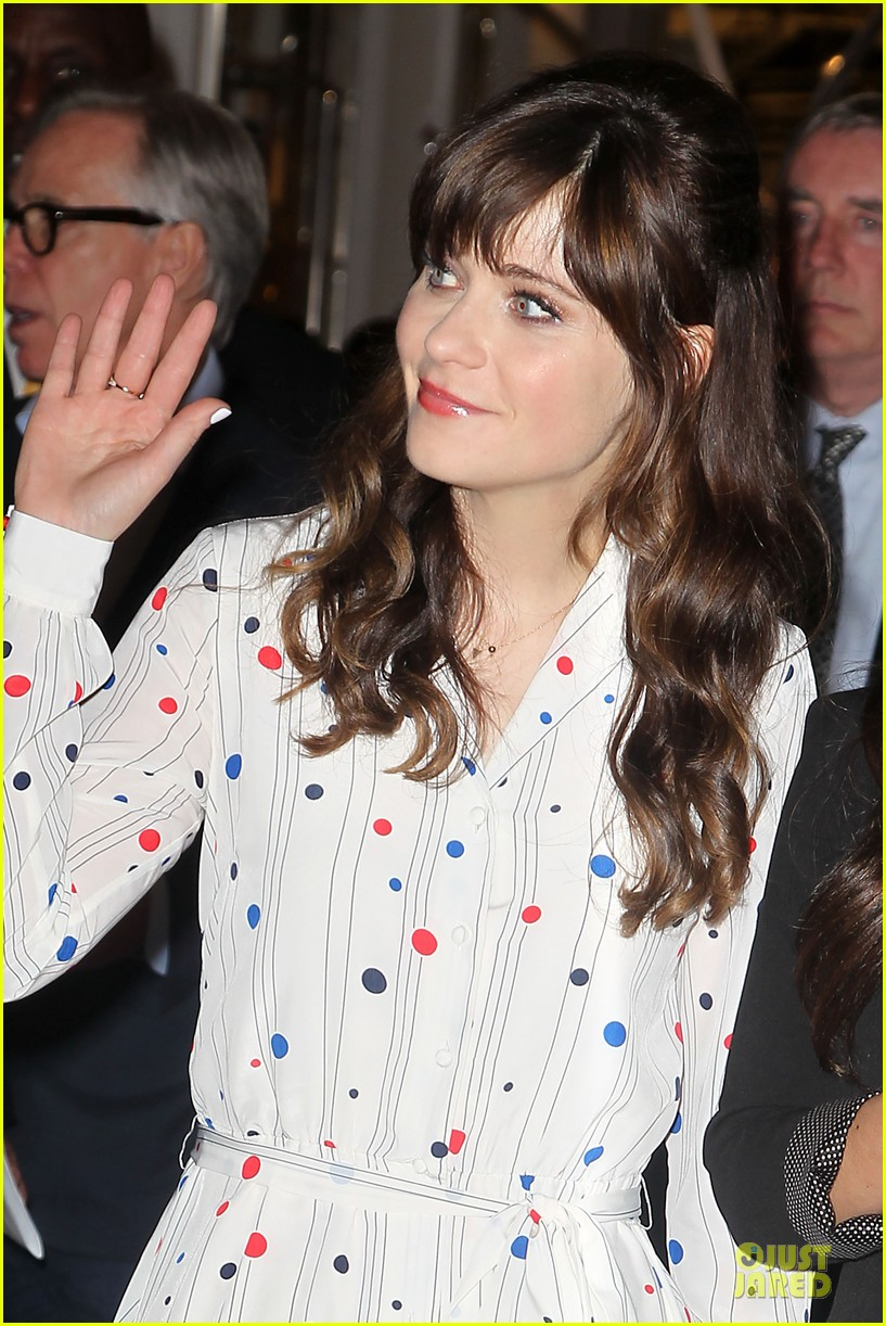 zooey deschanel tommy hilfiger collection launch 133092501