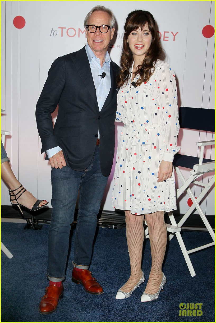 zooey deschanel tommy hilfiger collection launch 14