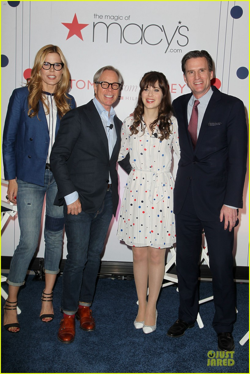 zooey deschanel tommy hilfiger collection launch 163092504