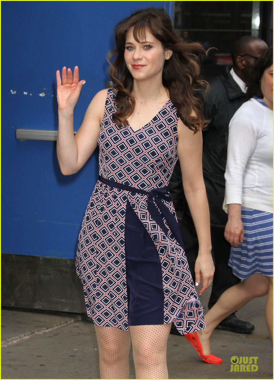 zooey deschanel tommy hilfiger collection launch 193092507