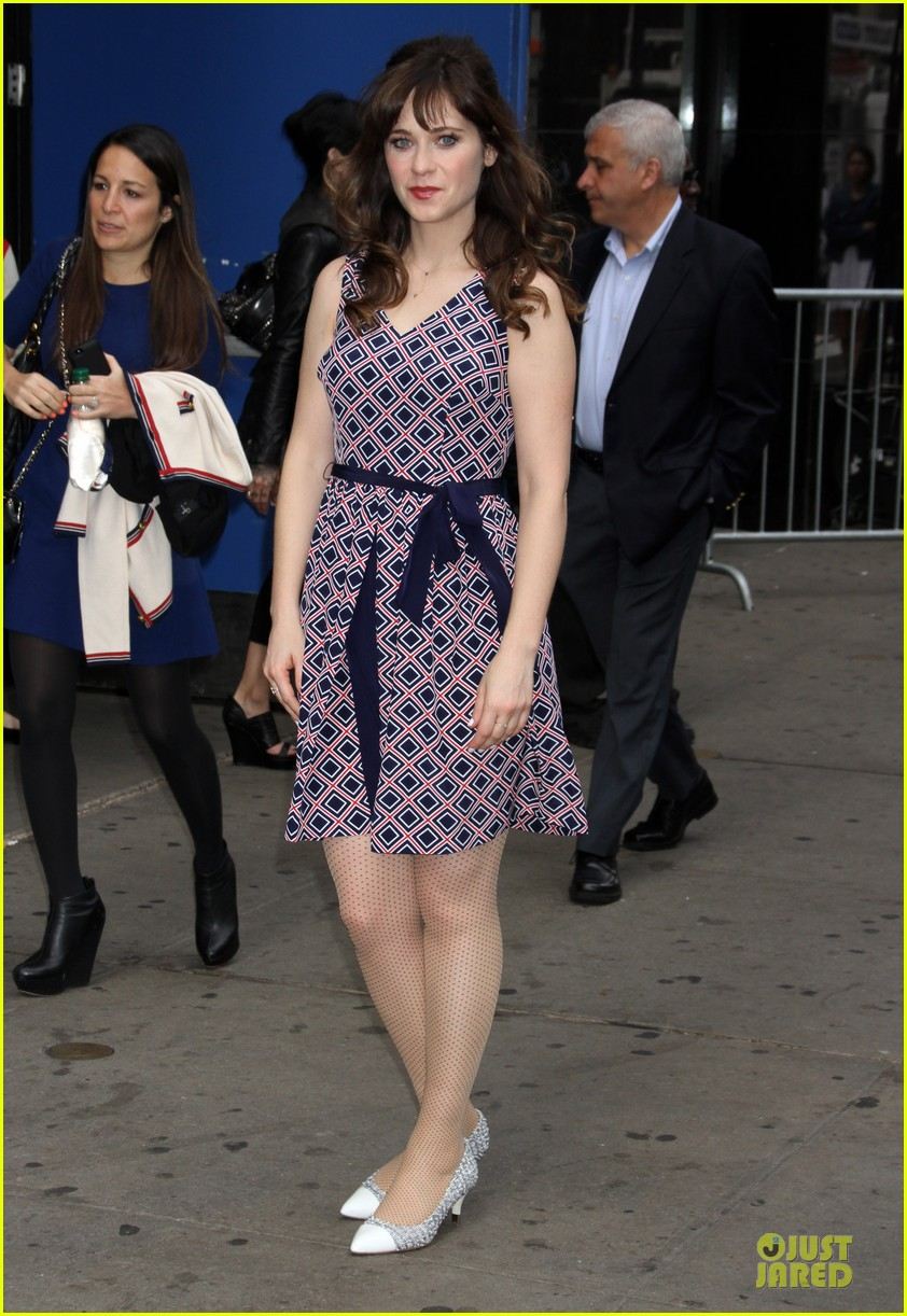 zooey deschanel tommy hilfiger collection launch 203092508