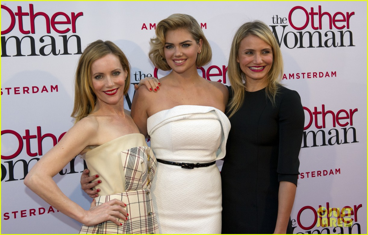 cameron diaz gets glam with kate upton leslie mann for the other woman 013083234