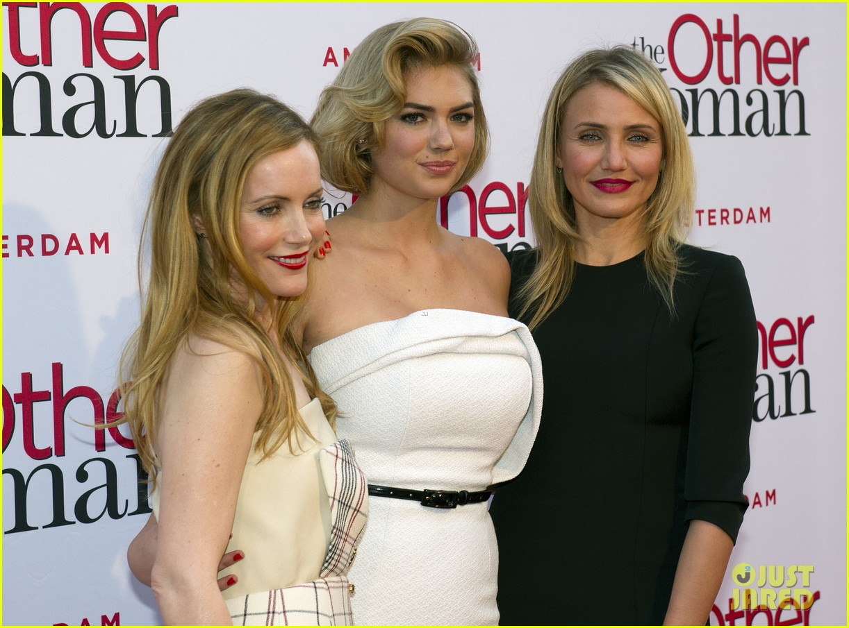 cameron diaz gets glam with kate upton leslie mann for the other woman 023083235