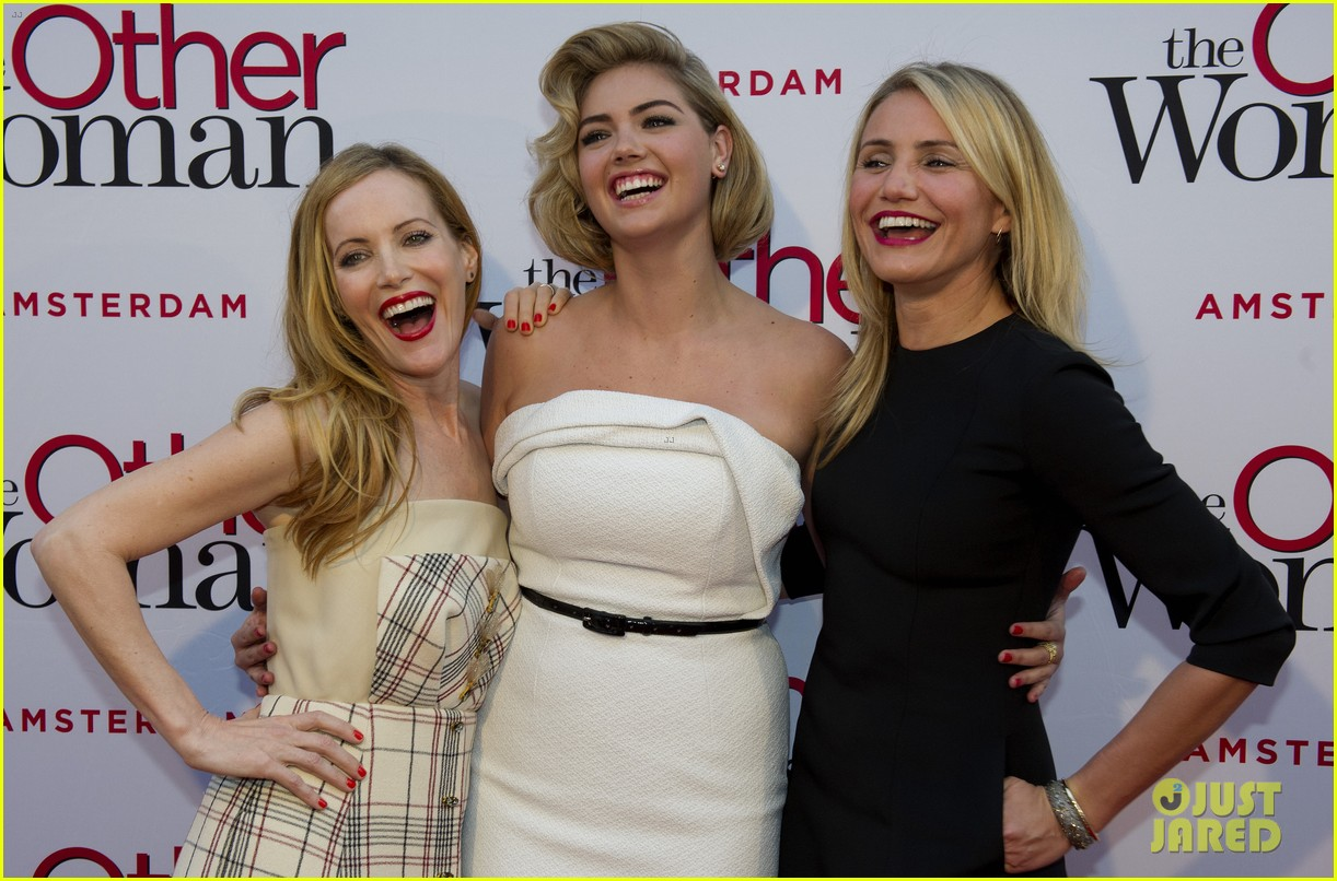 cameron diaz gets glam with kate upton leslie mann for the other woman 153083248