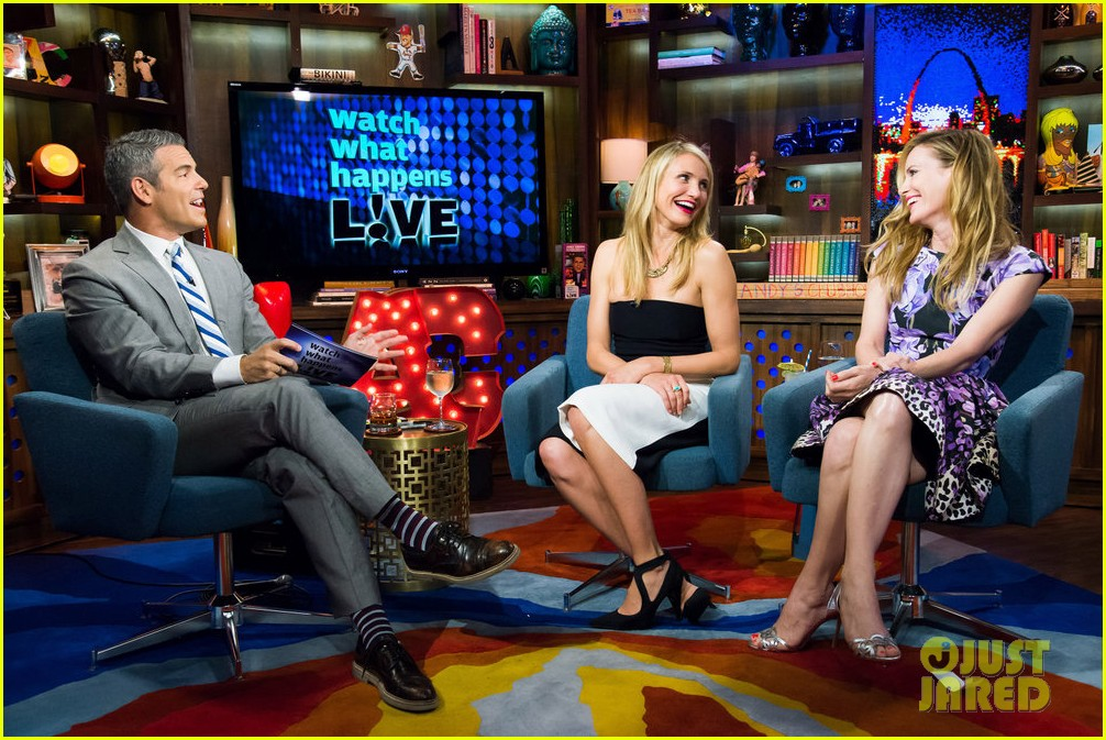 cameron diaz confirms shes been with a woman watch what happens live 033101642
