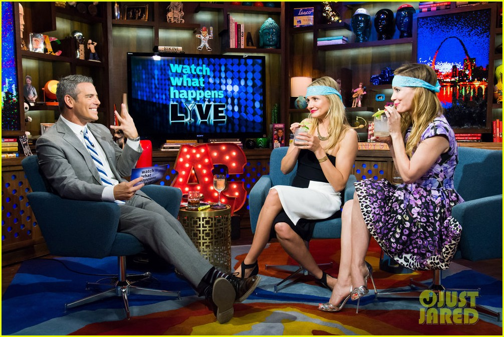 cameron diaz confirms shes been with a woman watch what happens live 083101647