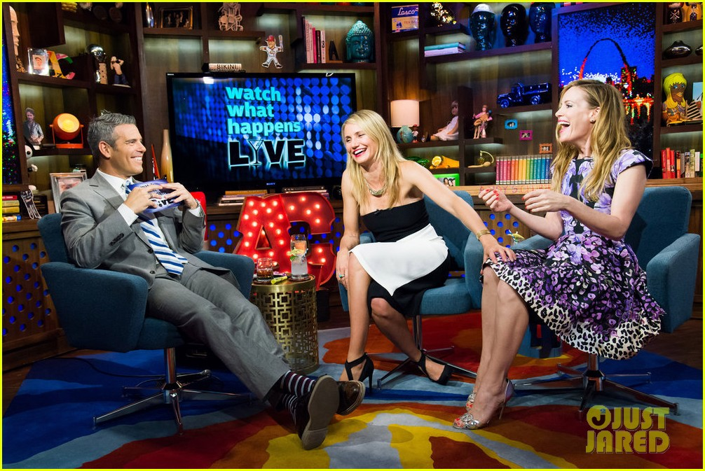 cameron diaz confirms shes been with a woman watch what happens live 093101648
