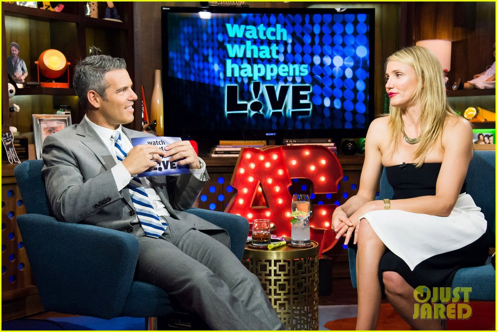 cameron diaz confirms shes been with a woman watch what happens live 123101651