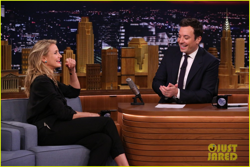 cameron diaz roller golf jimmy fallon 06