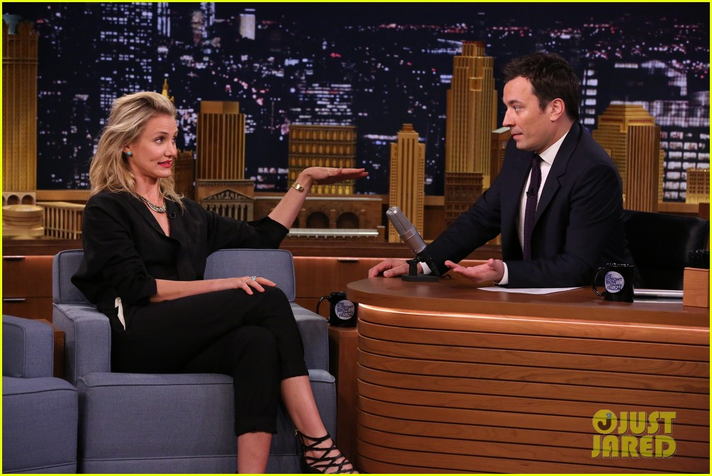 cameron diaz roller golf jimmy fallon 093097791