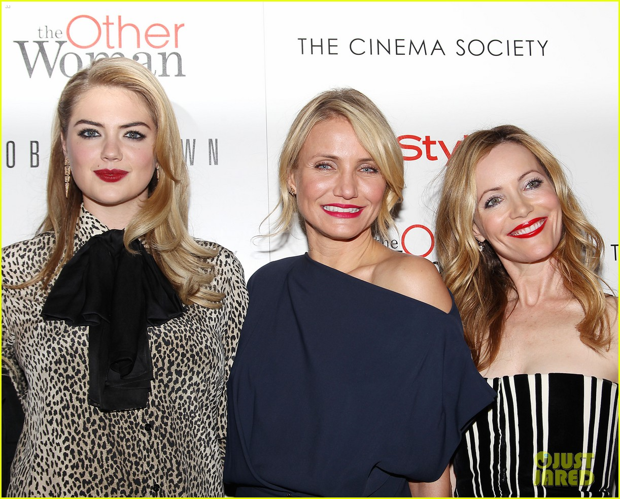 cameron diaz leslie mann kate upton final other woman screening 203098808