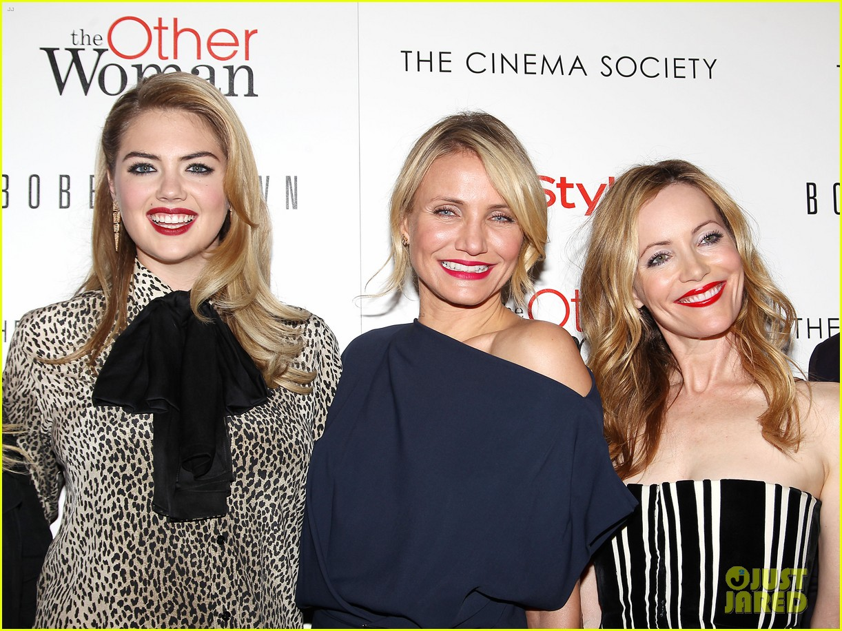 cameron diaz leslie mann kate upton final other woman screening 21