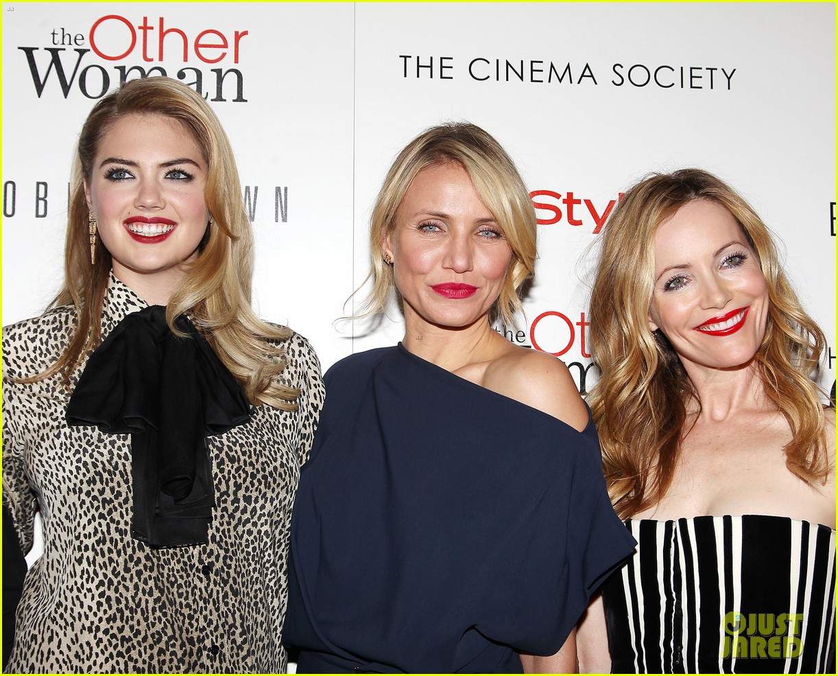cameron diaz leslie mann kate upton final other woman screening 223098810