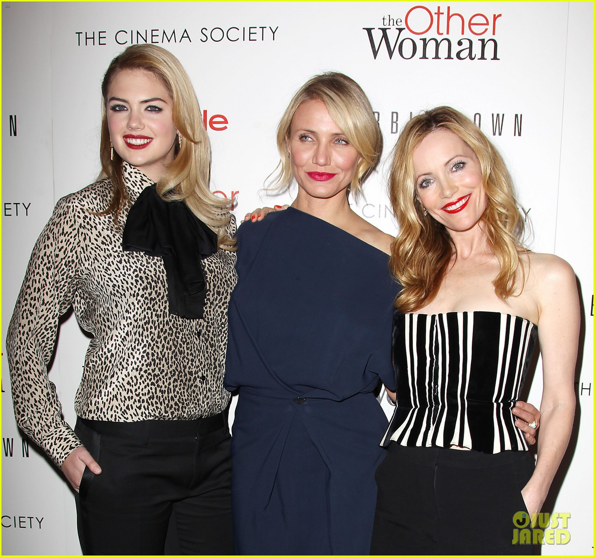 cameron diaz leslie mann kate upton final other woman screening 233098811