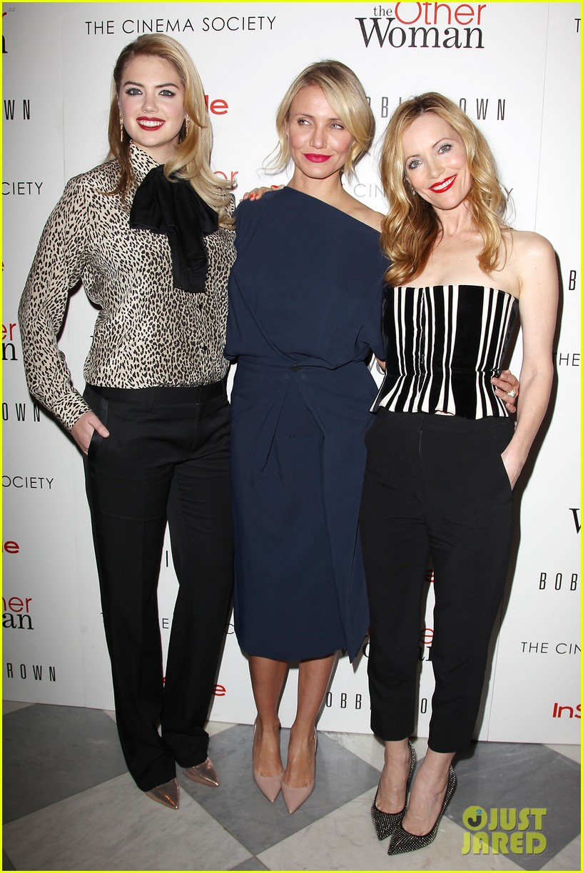 cameron diaz leslie mann kate upton final other woman screening 243098812