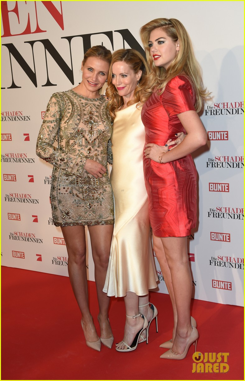 cameron diaz kate upton other woman munich premiere 16