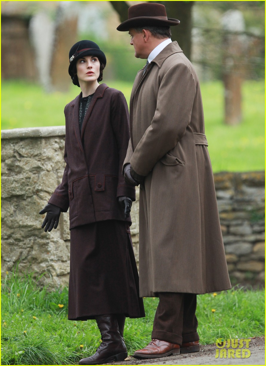 these downton abbey season five set pics are getting us really excited 123098156