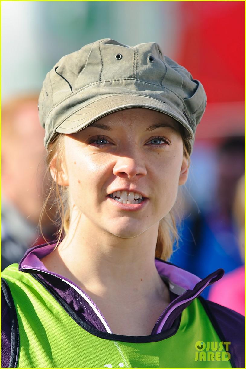 natalie dormer runs london marathon for charity 043090963
