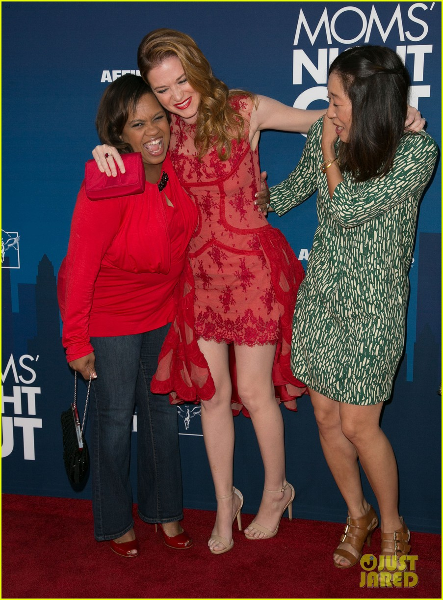 Greys Anatomy\' Cast Supports Sarah Drew at \'Mom\'s Night Out ...