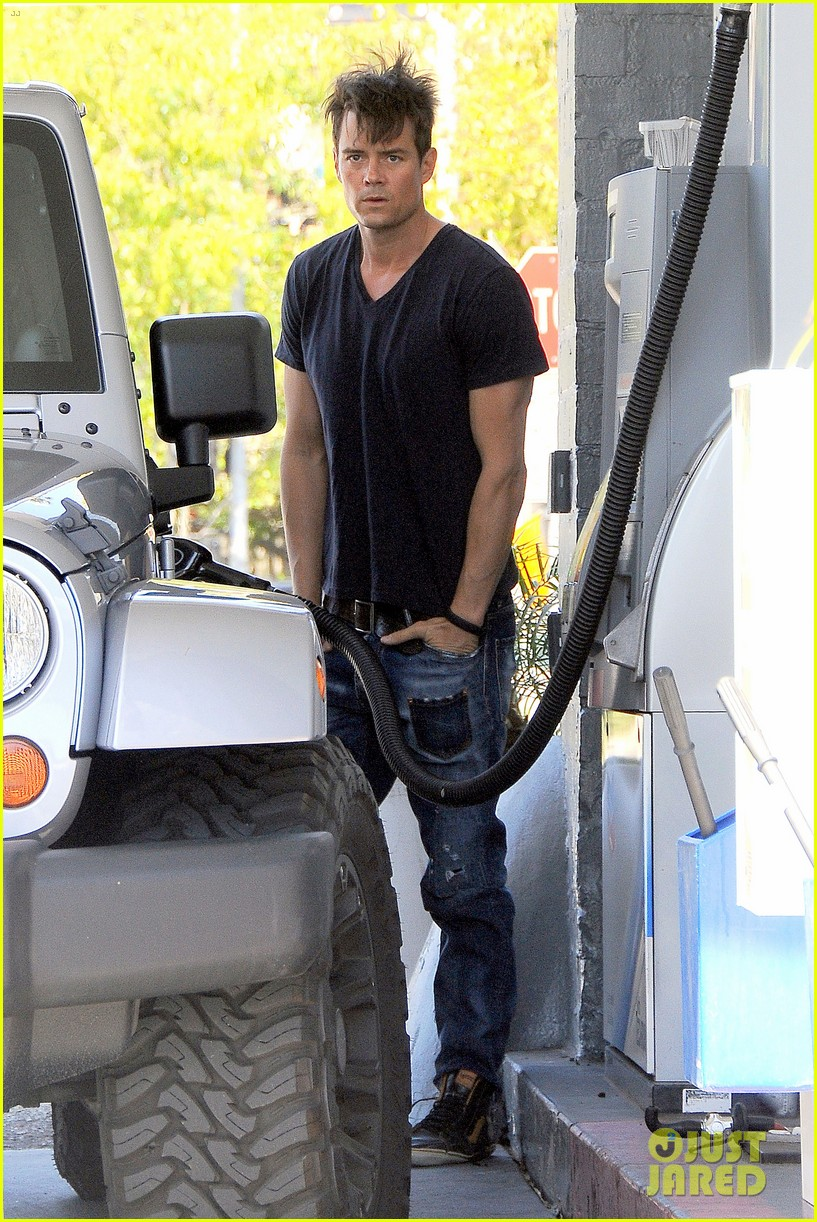 josh duhamel messy hair woke up like this 053086281