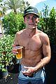 scott eastwood shirtless body at coachella 02